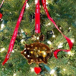 Georg Jensen Denmark Ornament 2003 Christmas Pig